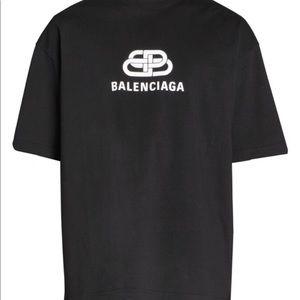 BB Balenciaga Logo Tee